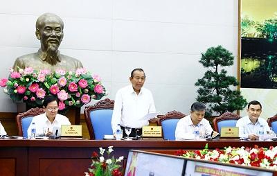 Phó Thủ tướng Thường trực Trương Hòa Bình phát biểu chỉ đạo tại hội nghị. Ảnh: VGP/Lê Sơn